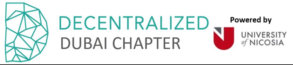 Decentralized - Dubai Chapter